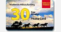 Wells Fargo Calling Card